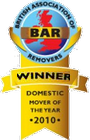 Domestic Mover of the Year 2010 Winner
